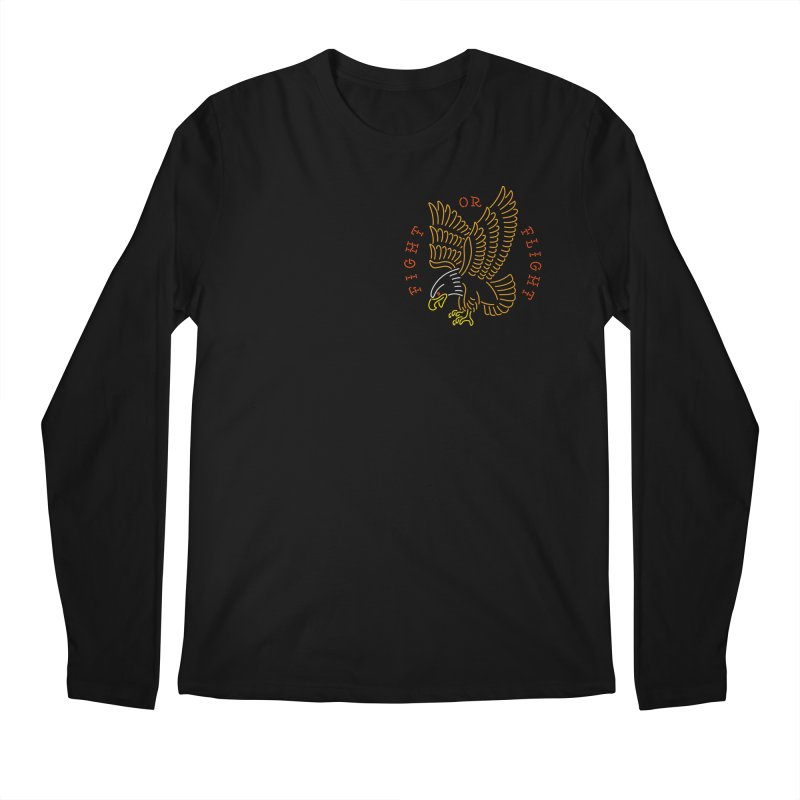 Fight or Flight Men's Longsleeve T-Shirt by Cody Weiler