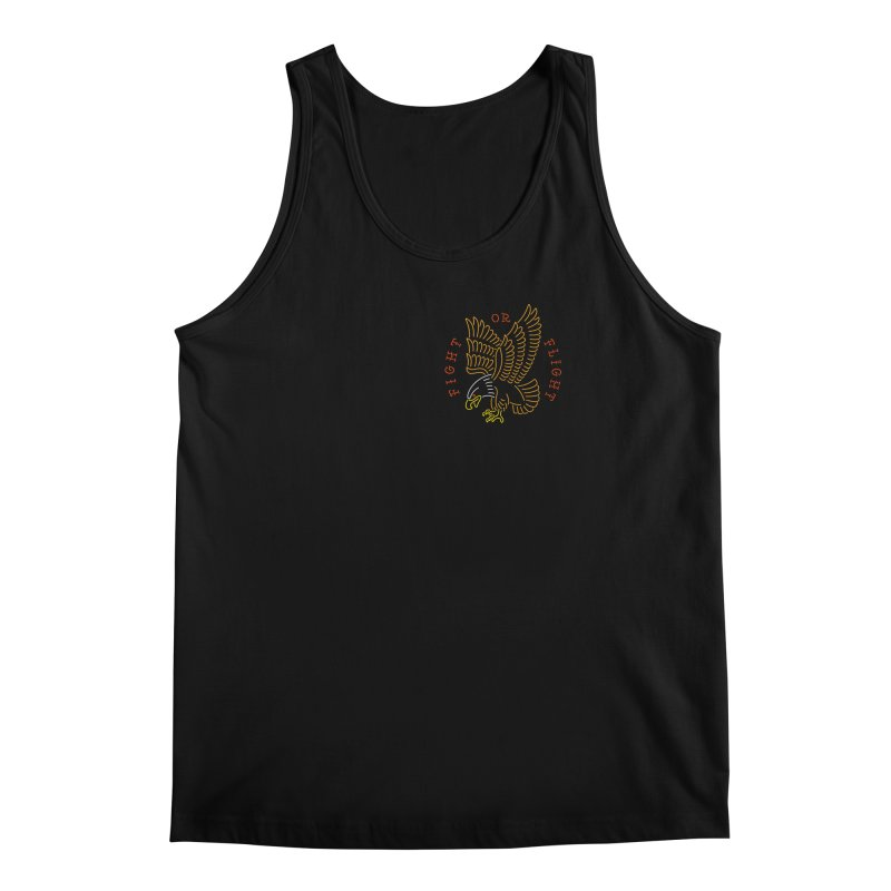 Fight or Flight Men's Tank by csw