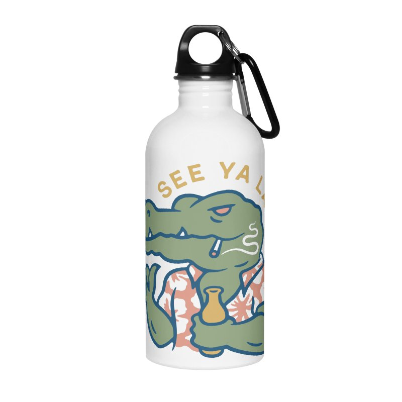 See Ya Later Accessories Water Bottle by csw