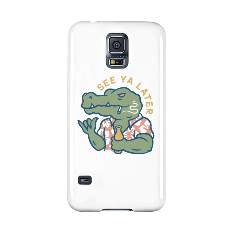 See Ya Later Accessories Phone Case by Cody Weiler