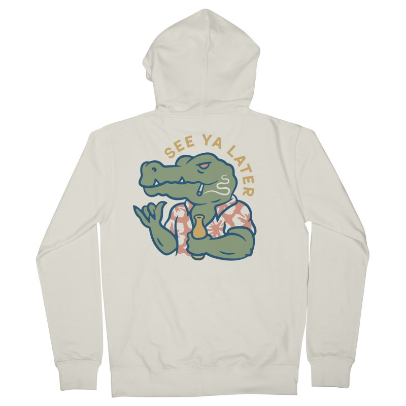 See Ya Later Men's Zip-Up Hoody by Cody Weiler