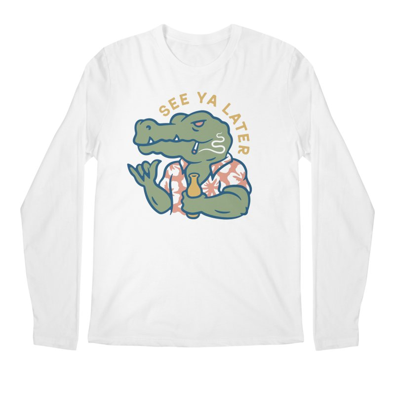 See Ya Later Men's Longsleeve T-Shirt by Cody Weiler