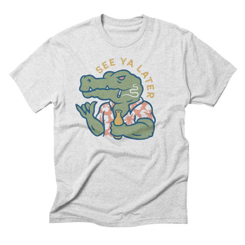 See Ya Later Men's Triblend T-Shirt by csw