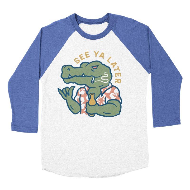 See Ya Later Women's Baseball Triblend Longsleeve T-Shirt by csw
