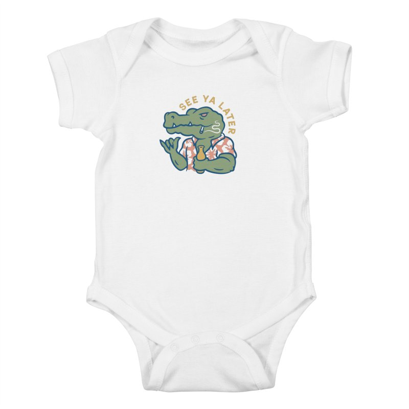 See Ya Later Kids Baby Bodysuit by csw