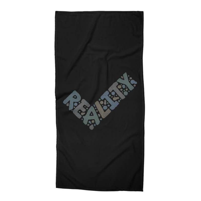 Reality Check Accessories Beach Towel by csw