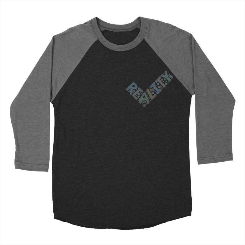 Reality Check Men's Baseball Triblend Longsleeve T-Shirt by csw