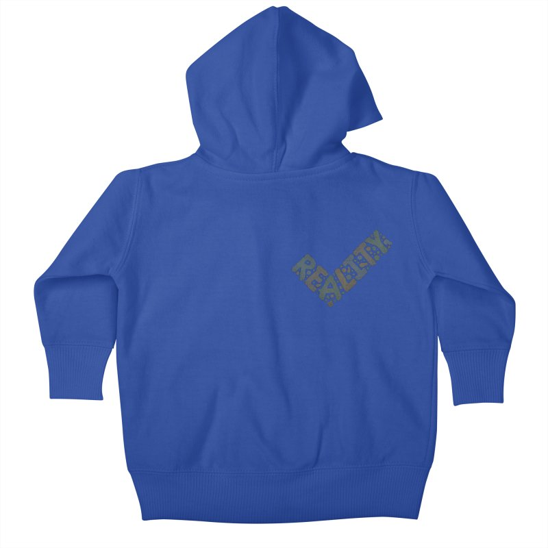 Reality Check Kids Baby Zip-Up Hoody by csw
