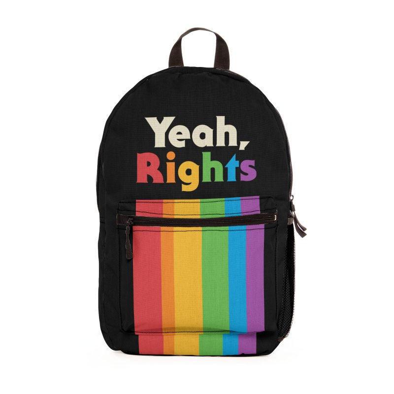 Yeah, Rights Accessories Bag by Cody Weiler