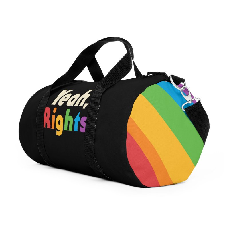 Yeah, Rights Accessories Duffel Bag Bag by Cody Weiler