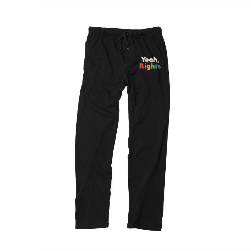 Yeah, Rights Men's Lounge Pants by csw