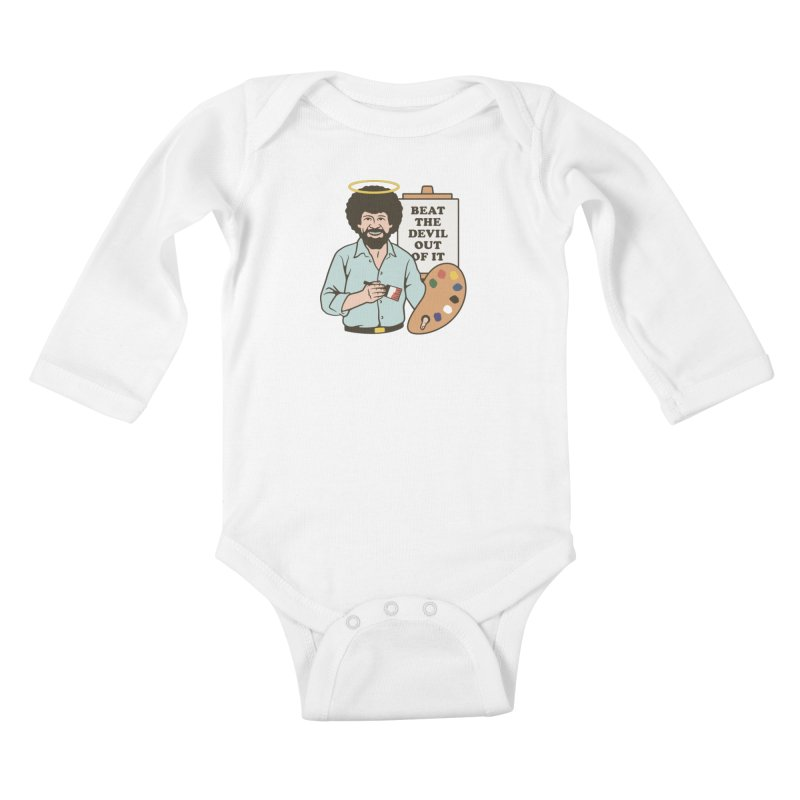 Beat the Devil Out of It Kids Baby Longsleeve Bodysuit by csw