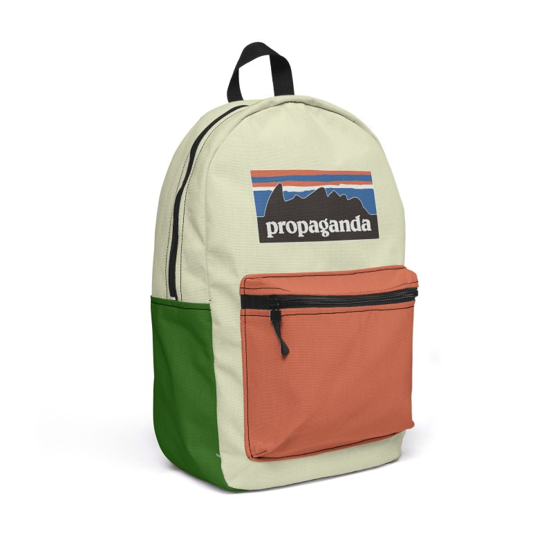 Propaganda Accessories Backpack Bag by Cody Weiler