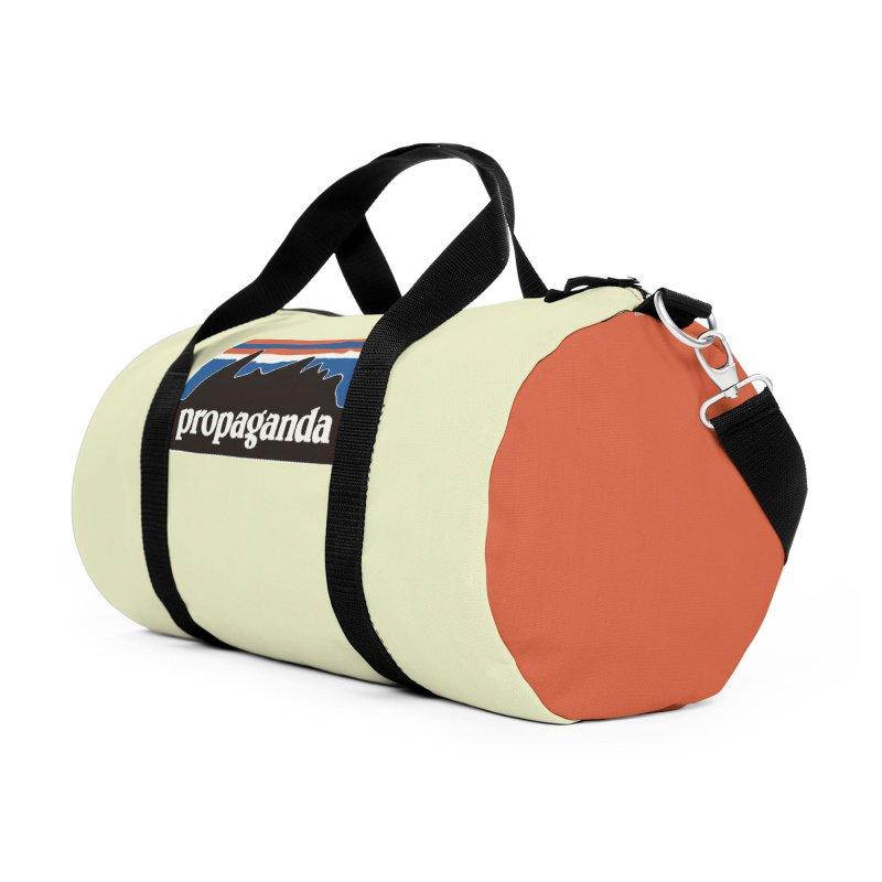 Propaganda Accessories Duffel Bag Bag by Cody Weiler