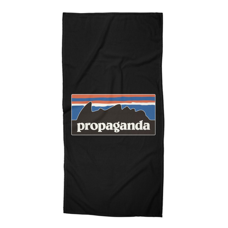 Propaganda Accessories Beach Towel by csw