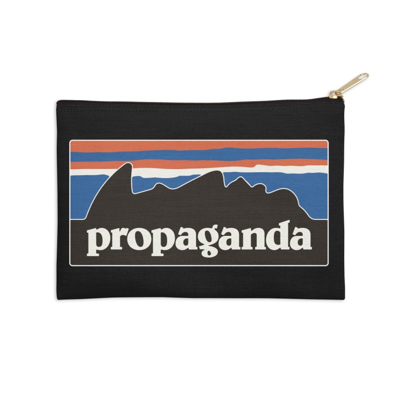 Propaganda Accessories Zip Pouch by csw