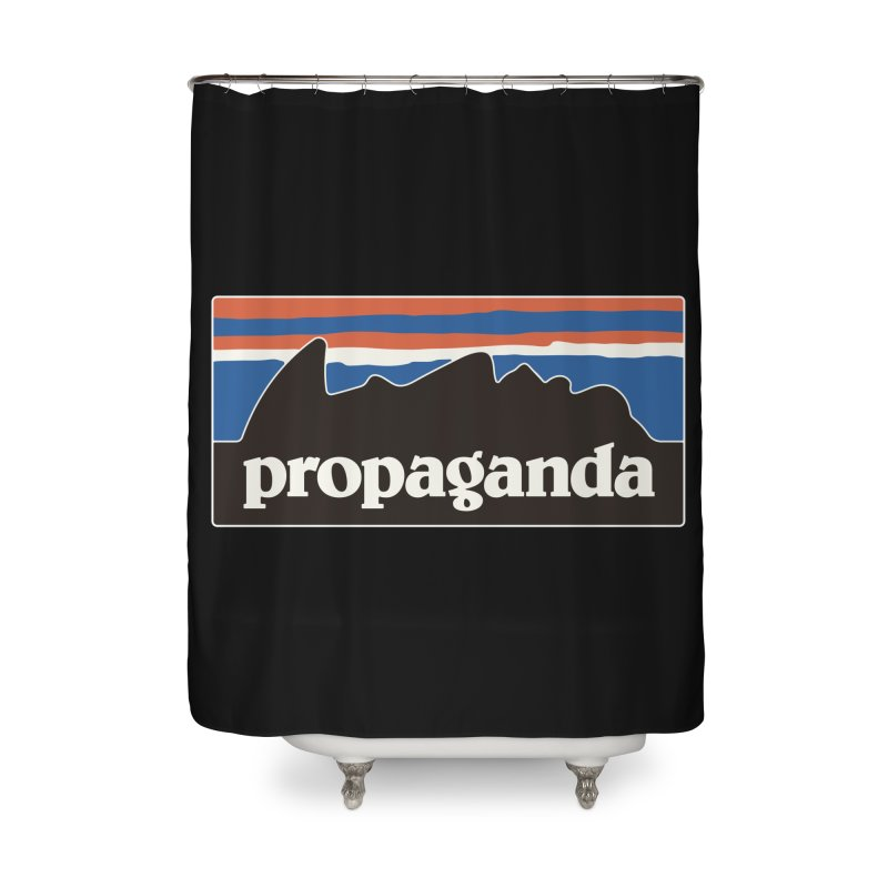 Propaganda Home Shower Curtain by csw