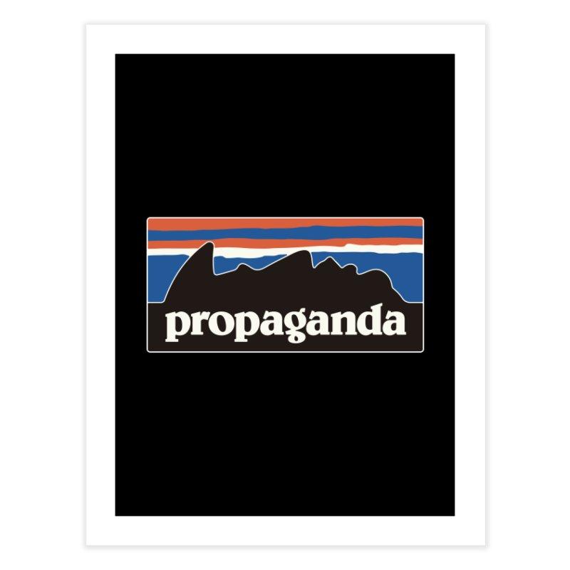 Propaganda Home Fine Art Print by csw