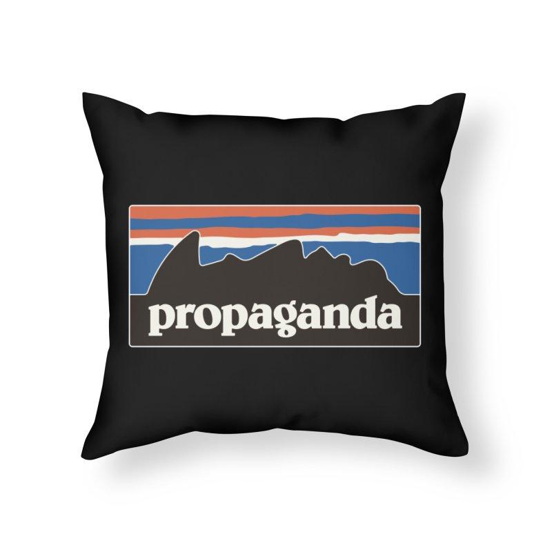 Propaganda Home Throw Pillow by csw