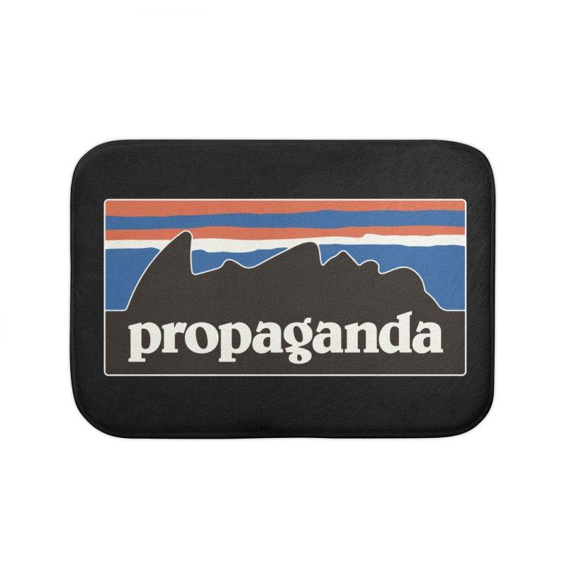 Propaganda Home Bath Mat by csw