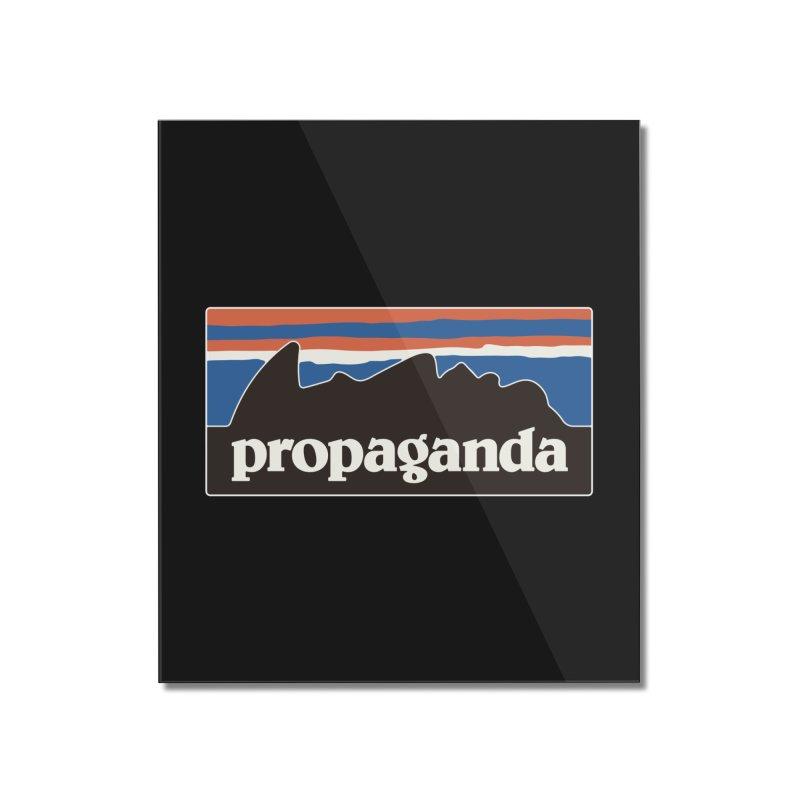 Propaganda Home Mounted Acrylic Print by csw