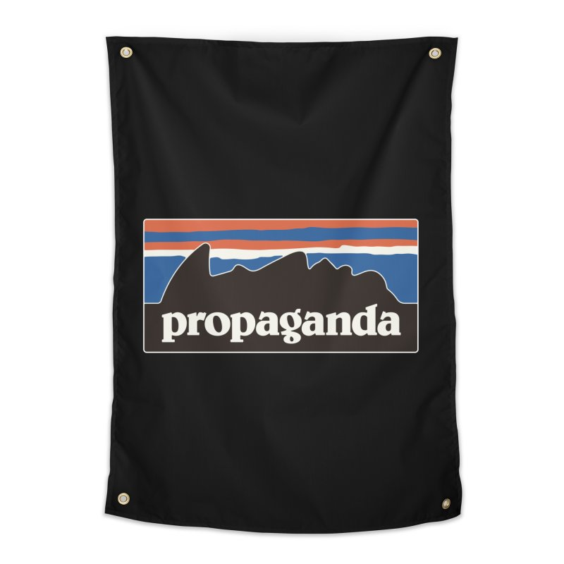 Propaganda Home Tapestry by csw