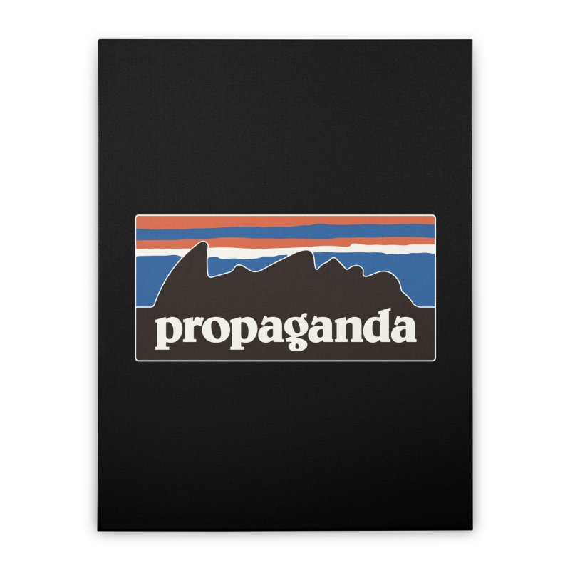 Propaganda Home Stretched Canvas by csw