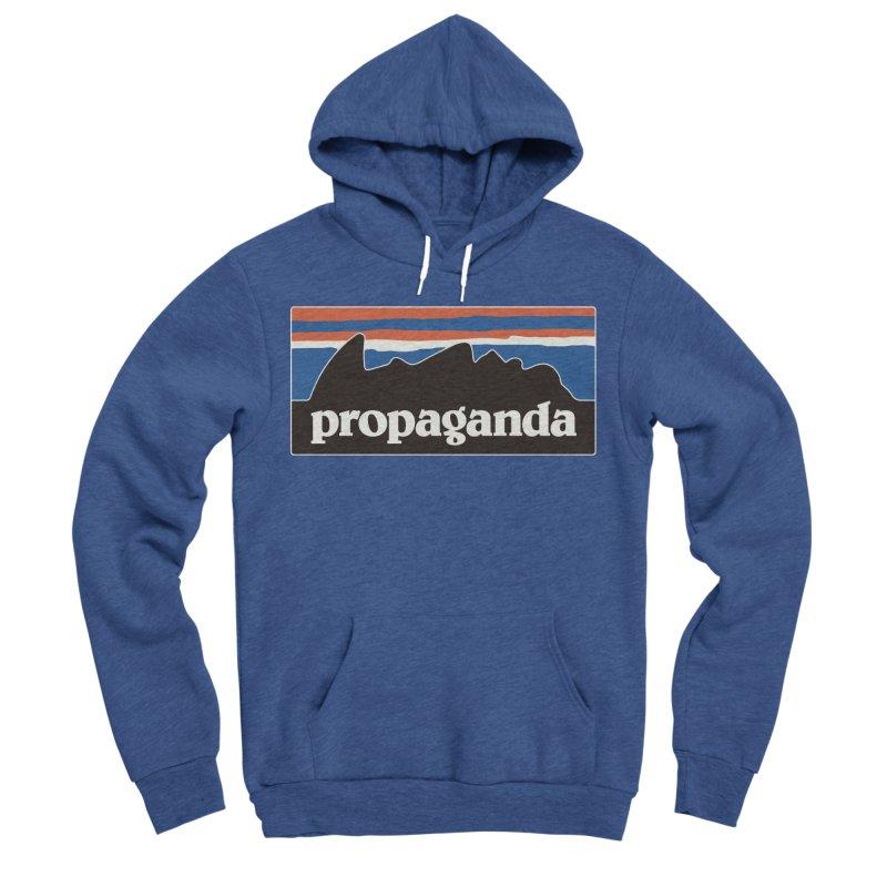 Propaganda Women's Sponge Fleece Pullover Hoody by csw