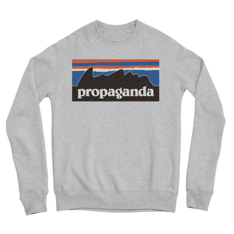 Propaganda Men's Sponge Fleece Sweatshirt by csw