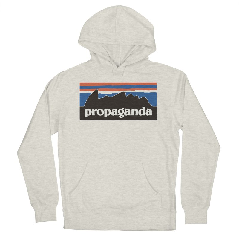 Propaganda Men's French Terry Pullover Hoody by csw