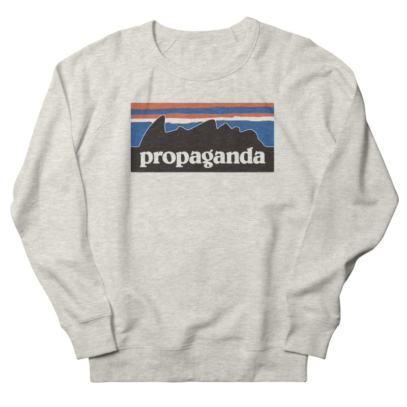 Propaganda Women's French Terry Sweatshirt by csw