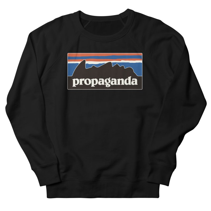 Propaganda Men's French Terry Sweatshirt by csw