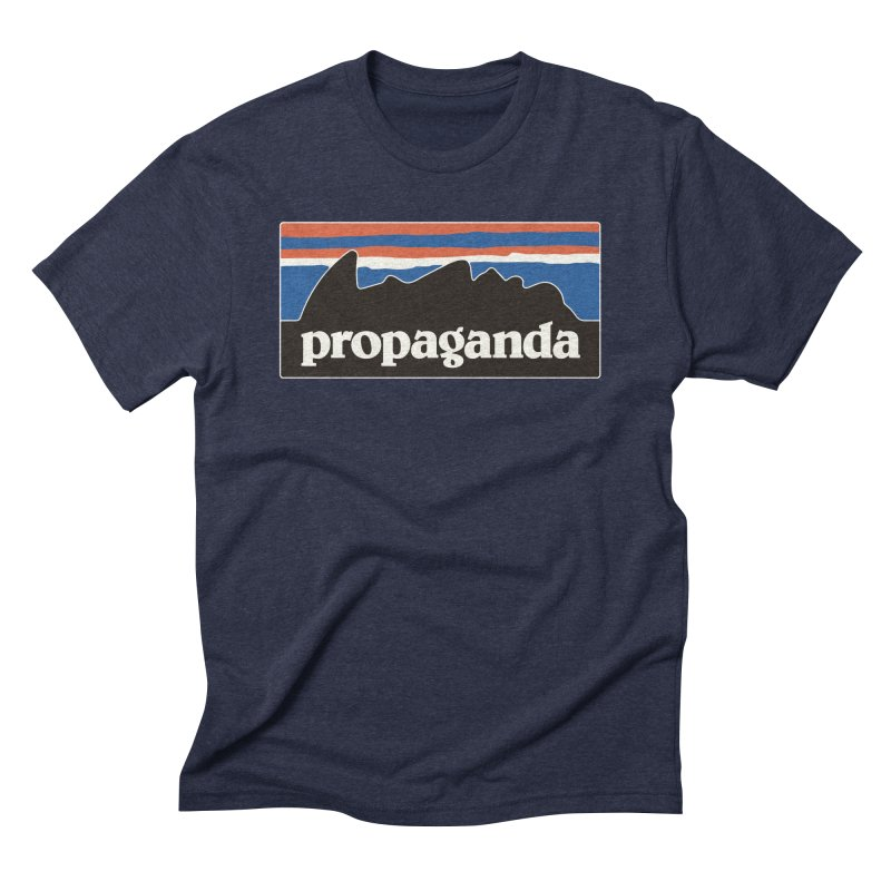 Propaganda Men's Triblend T-Shirt by csw
