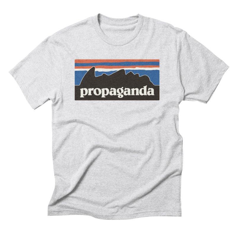 Propaganda Men's Triblend T-Shirt by csw