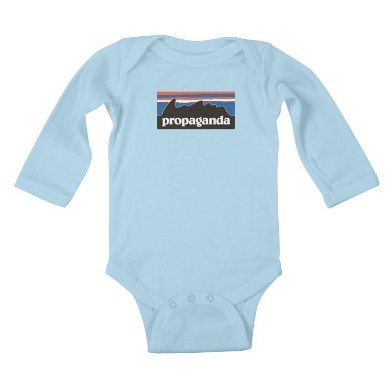 Propaganda Kids Baby Longsleeve Bodysuit by csw
