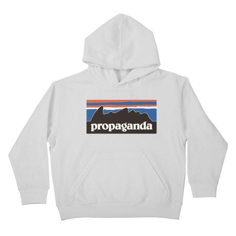 Propaganda Kids Pullover Hoody by csw