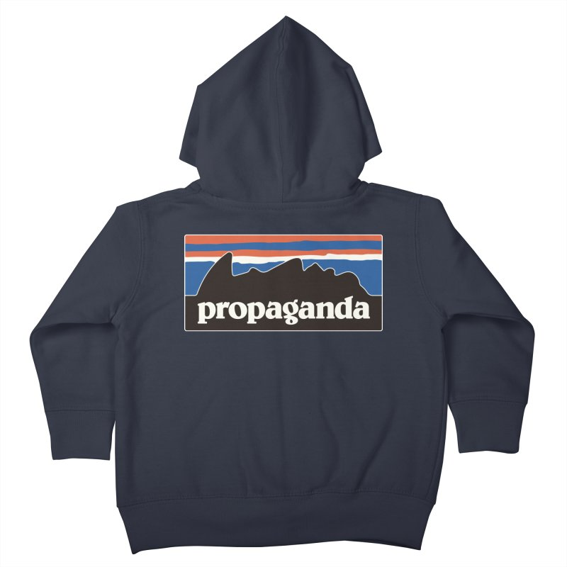 Propaganda Kids Toddler Zip-Up Hoody by csw