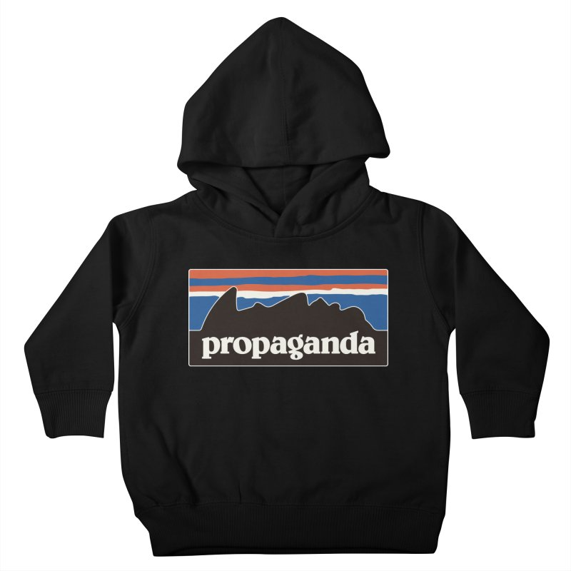 Propaganda Kids Toddler Pullover Hoody by csw