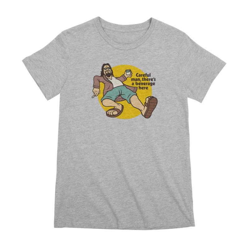 Careful, man. Women's Premium T-Shirt by csw