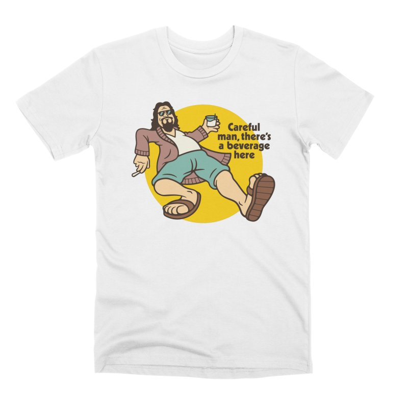 Careful, man. Men's Premium T-Shirt by csw