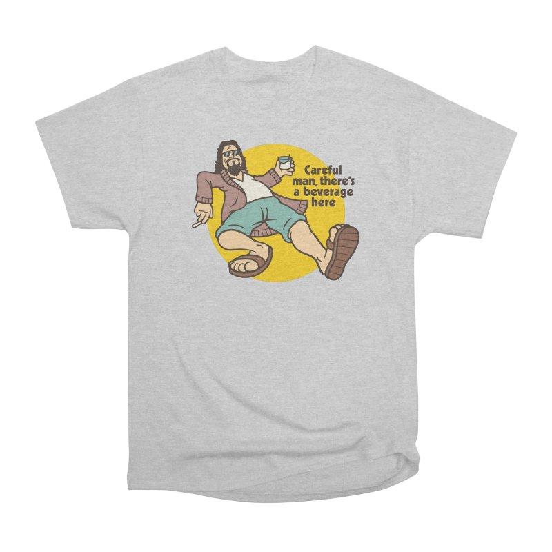 Careful, man. Women's Heavyweight Unisex T-Shirt by csw