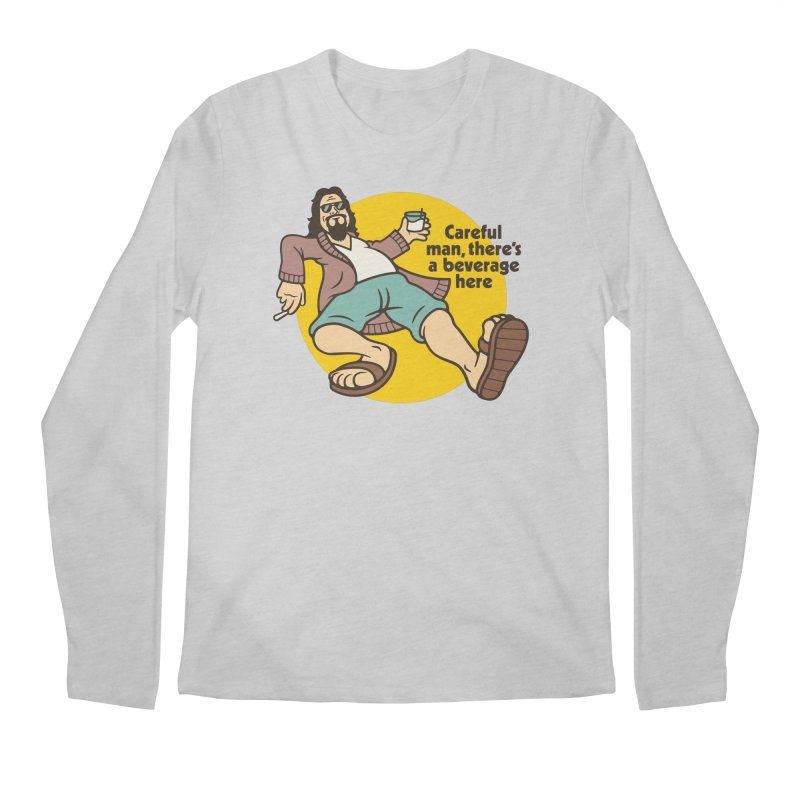Careful, man. Men's Longsleeve T-Shirt by Cody Weiler