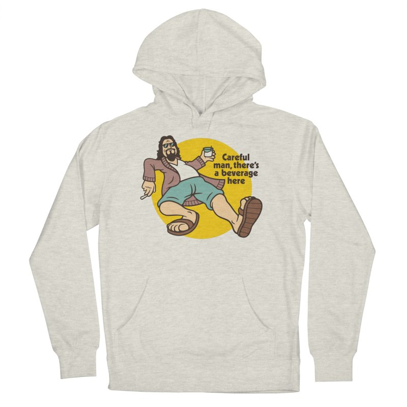 Careful, man. Women's French Terry Pullover Hoody by csw