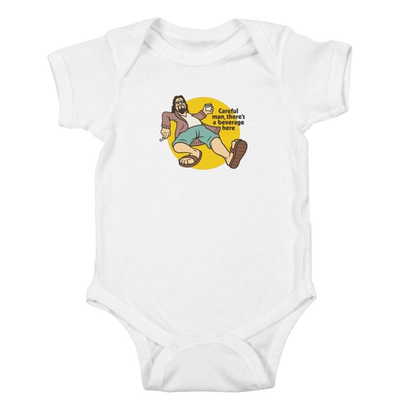 Careful, man. Kids Baby Bodysuit by csw