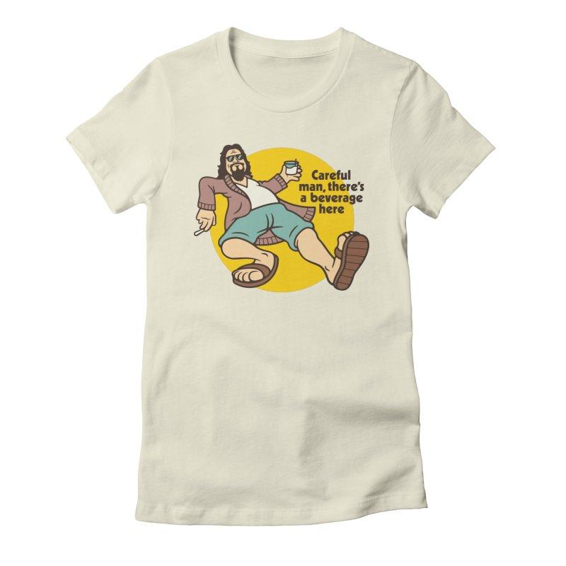 Careful, man. Women's T-Shirt by Cody Weiler