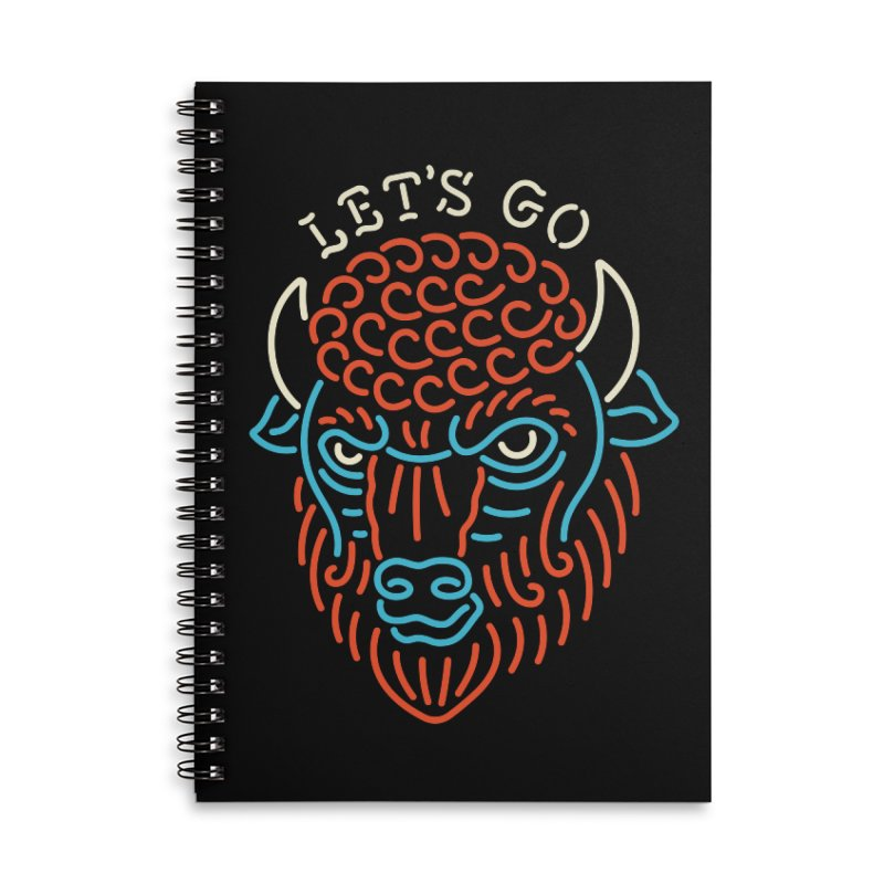 Let's Go Accessories Notebook by Cody Weiler