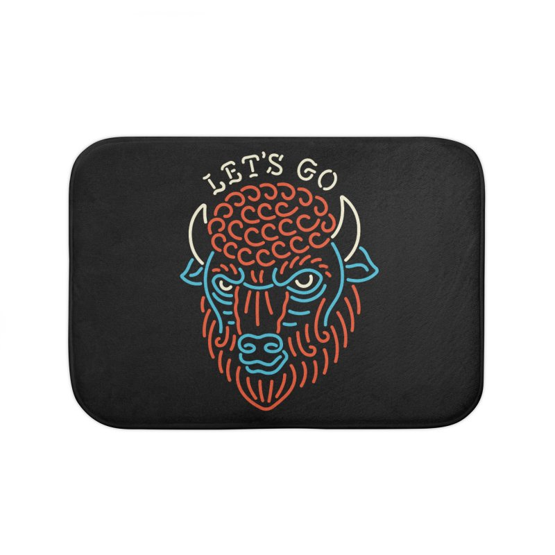 Let's Go Home Bath Mat by csw