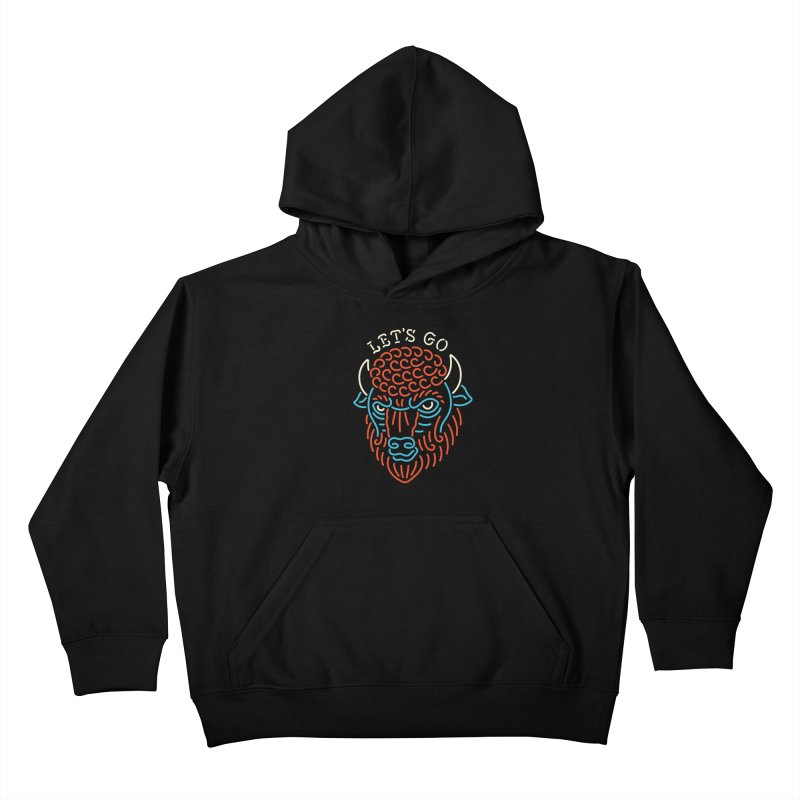 Let's Go Kids Pullover Hoody by csw