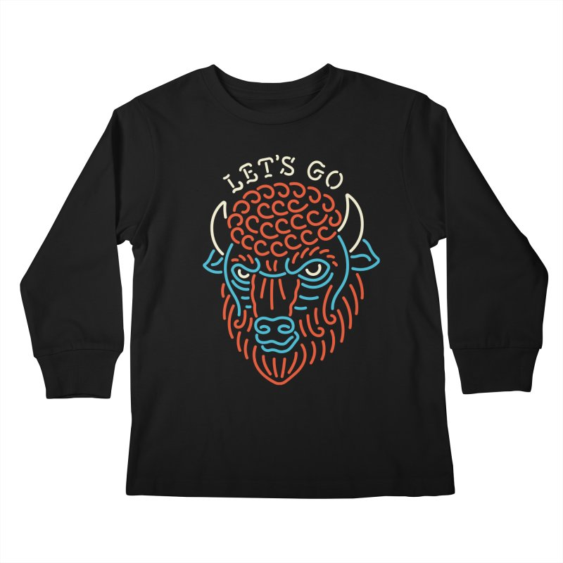 Let's Go Kids Longsleeve T-Shirt by csw