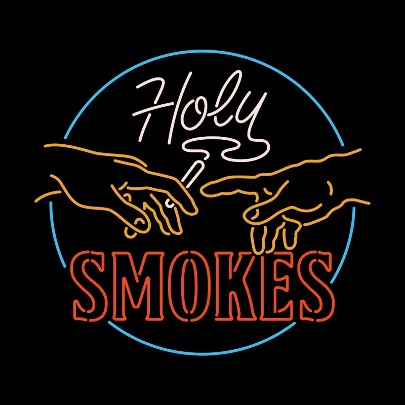 Holy Smokes III Kids T-Shirt by Cody Weiler